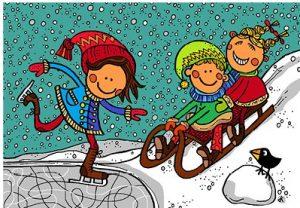 Jitka Koldová - Zimní pohlednice